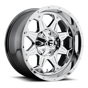 Fuel 1-Piece Wheels Boost - D533 5 PVD Chrome