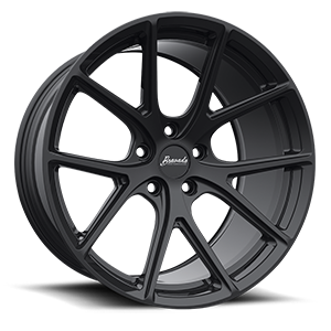 Tribute Matte Black 5 lug