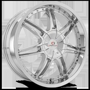 CLV-11 Chrome 5 lug