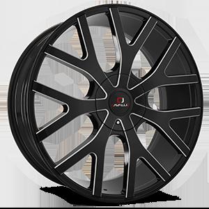 Cavallo Wheels CLV-15 5 Gloss Black Milled