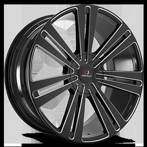 Cavallo Wheels CLV-16 5 Gloss Black Milled