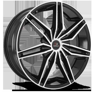 Cavallo Wheels CLV-19 5 Gloss Black Machined