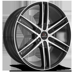 Cavallo Wheels CLV-20 5 Gloss Black Machined