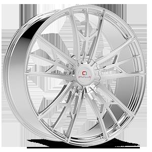 CLV-39 Chrome 5 lug