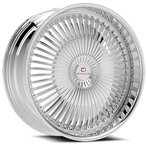 CLV-41 Chrome 5 lug