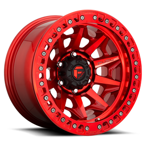 Covert Beadlock - D113 Candy Red 6 lug