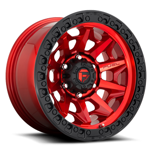 Covert - D695 Candy Red w/ Black Ring 5 lug