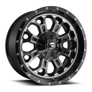 Fuel 1-Piece Wheels Crush - D561 5 Gloss Black Double Dark Tint