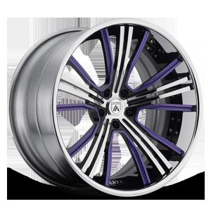 Asanti Forged Wheels C/X Series CX187 5 Purple