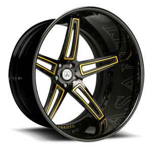 Asanti Forged Wheels C/X Series CX506 5 Yellow