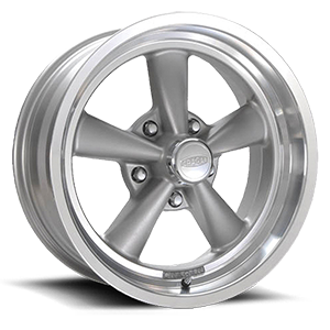 Series 610G G/T RWD 5 Gray Spokes with Machined Lip