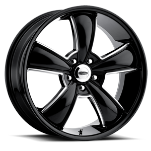 Series 615BMBC Modern Muscle 5 Black with Machined Accents