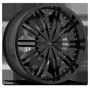 CR008 Semi Flat Black 5 lug