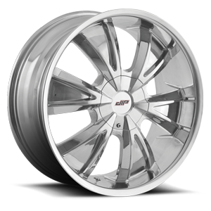 D38 Vibe Chrome 5 lug