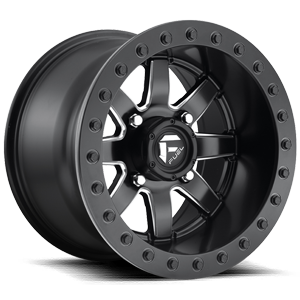 Maverick - D928 - Beadlock Black & Milled 4 lug