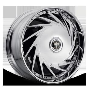 DUB Spinners Da U - S754 5 Chrome