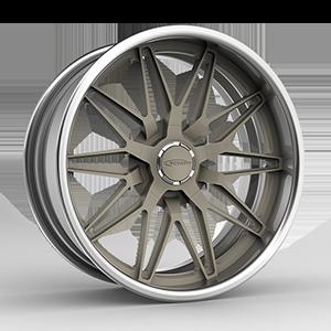 Drift s.concave Titanium / Brushed 5 lug