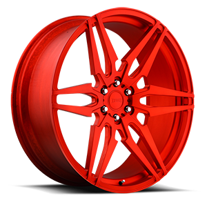 DUB Forged Attack 6 - XA40 6 Hi Polish | Matte Candy Red