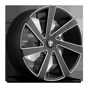 Directa - S133 Black & Milled 5 lug