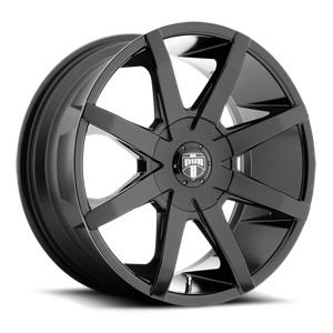 Push - S110 Gloss Black 19 6 lug