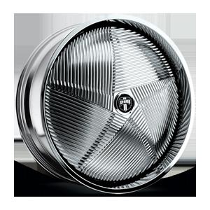 S735-Tecknow Chrome 5 lug