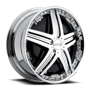 DUB Spinners Delusion - S774 5 Chrome