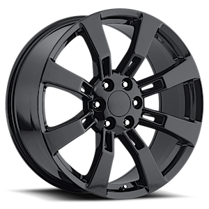 Style 40 Gloss Black 6 lug
