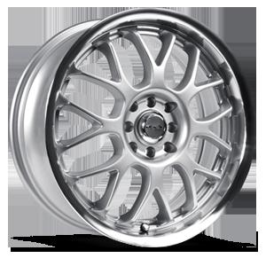 Euro Silver Machined 5 lug