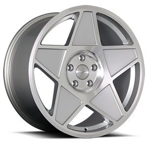Nineteen-80 Silver Machined 5 lug