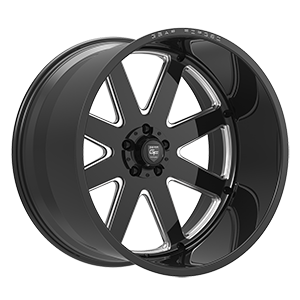 F70 Gloss Black Milled 5 lug