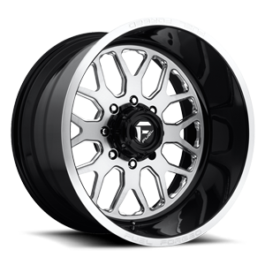FF19 Brushed / Gloss Black 8 lug