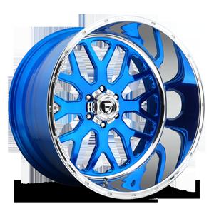 FF19 Candy Blue w/Polished Lip 6 lug