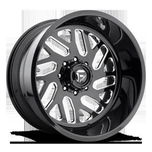 FF29 Gloss Black & Milled 8 lug