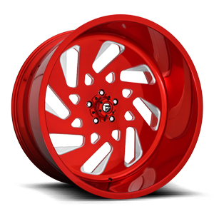 FF40 - 5 LUG 5 Candy Red