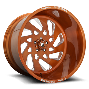 FF40 - 5 LUG 5 Brushed Candy Copper