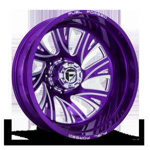 FF41D - Rear Candy Purple 8 lug