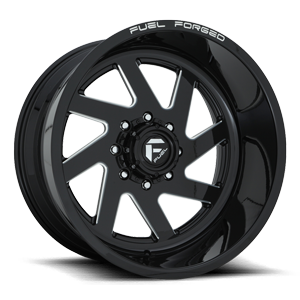 FF65 8 Gloss Black & Milled