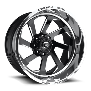 Fuel Forged Concave FFC39 | Concave 8 Polished w/Black Face