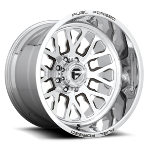 Fuel Forged Concave FFC45 - 8 Lug | Concave 8 Polished w/ Dodger Walnut Brown Metallic