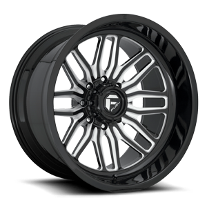FFC66 | Concave 8 Gloss Black & Milled