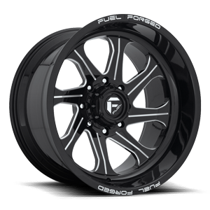 FF79 | Concave Gloss Black & Milled 8 lug