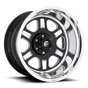 Fuel Forged Step Lip FFS97 6 Gloss Black & Milled