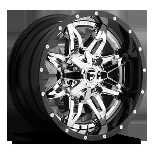 Fuel 2-Piece Wheels Lethal - D266 5 Chrome