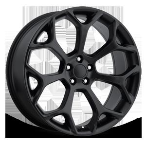 Style 71 Satin Black 5 lug