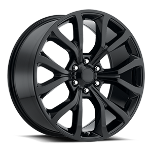 FD020 6 Gloss Black