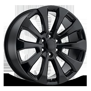 Style 92 Gloss Black 6 lug