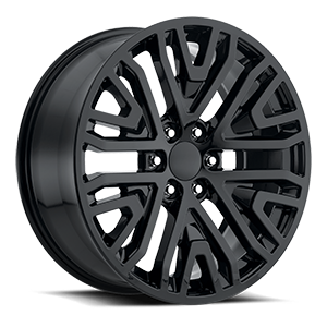 Style 93 Gloss Black 6 lug