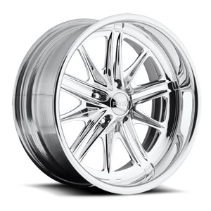P33 - F222 Polished 5 lug