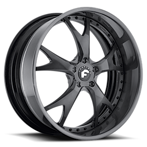 FORCELLA Smoke Satin Center, Smoke Satin Lip 6 lug