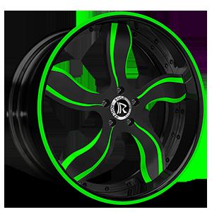 Fuego Green 5 lug